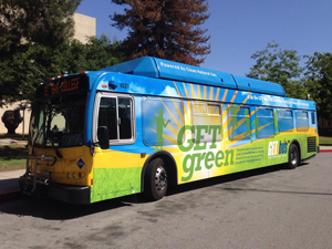 Free Rides On The Get Green Bus Golden Empire Transit