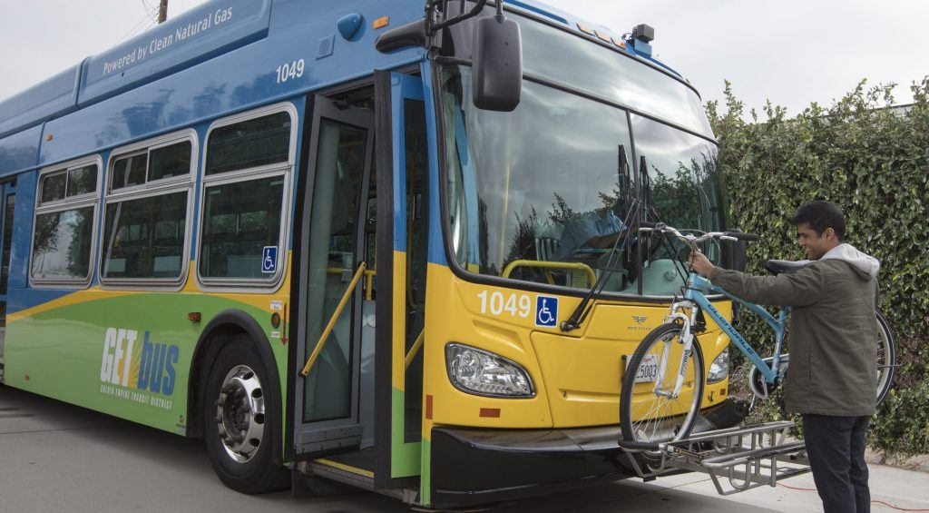 Bikes on Buses - Golden Empire Transit District