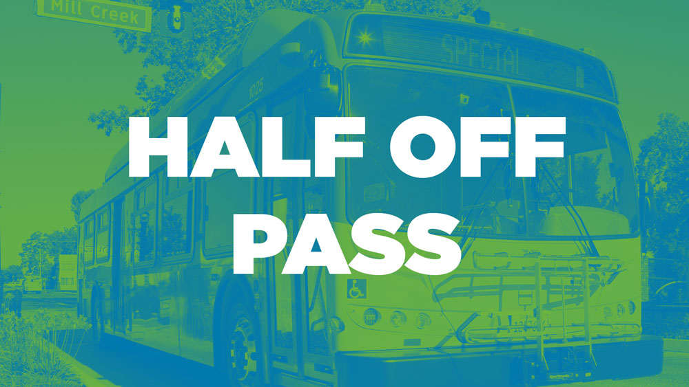 Offering Half-Off Passes to New Riders