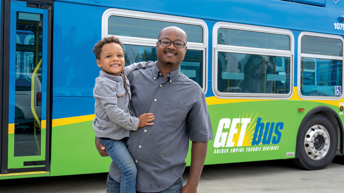 Golden Empire Transit Service Earns High Marks from the Community