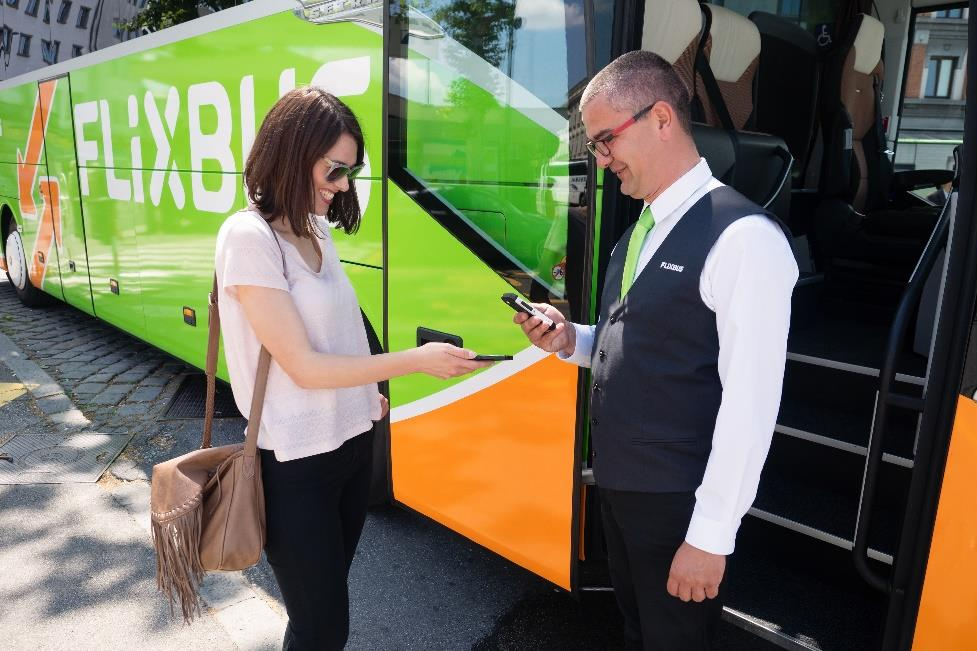 GET Launches FlixBus Service at Downtown Transit Center