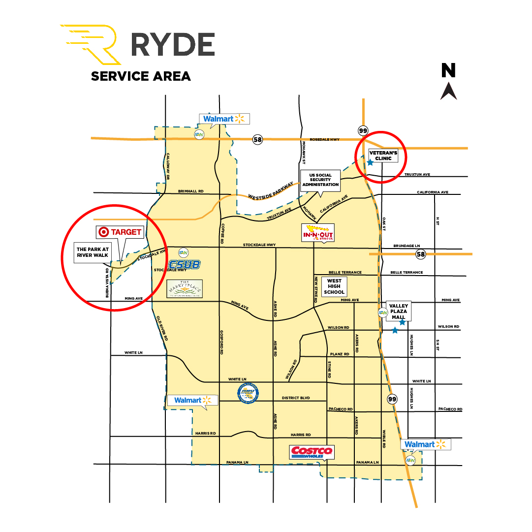 Golden Empire Transit District Extends RYDE Service Area