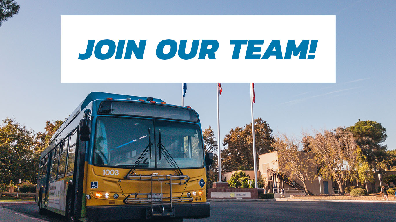 Golden Empire Transit District Job Fair Open House February 12, 2020