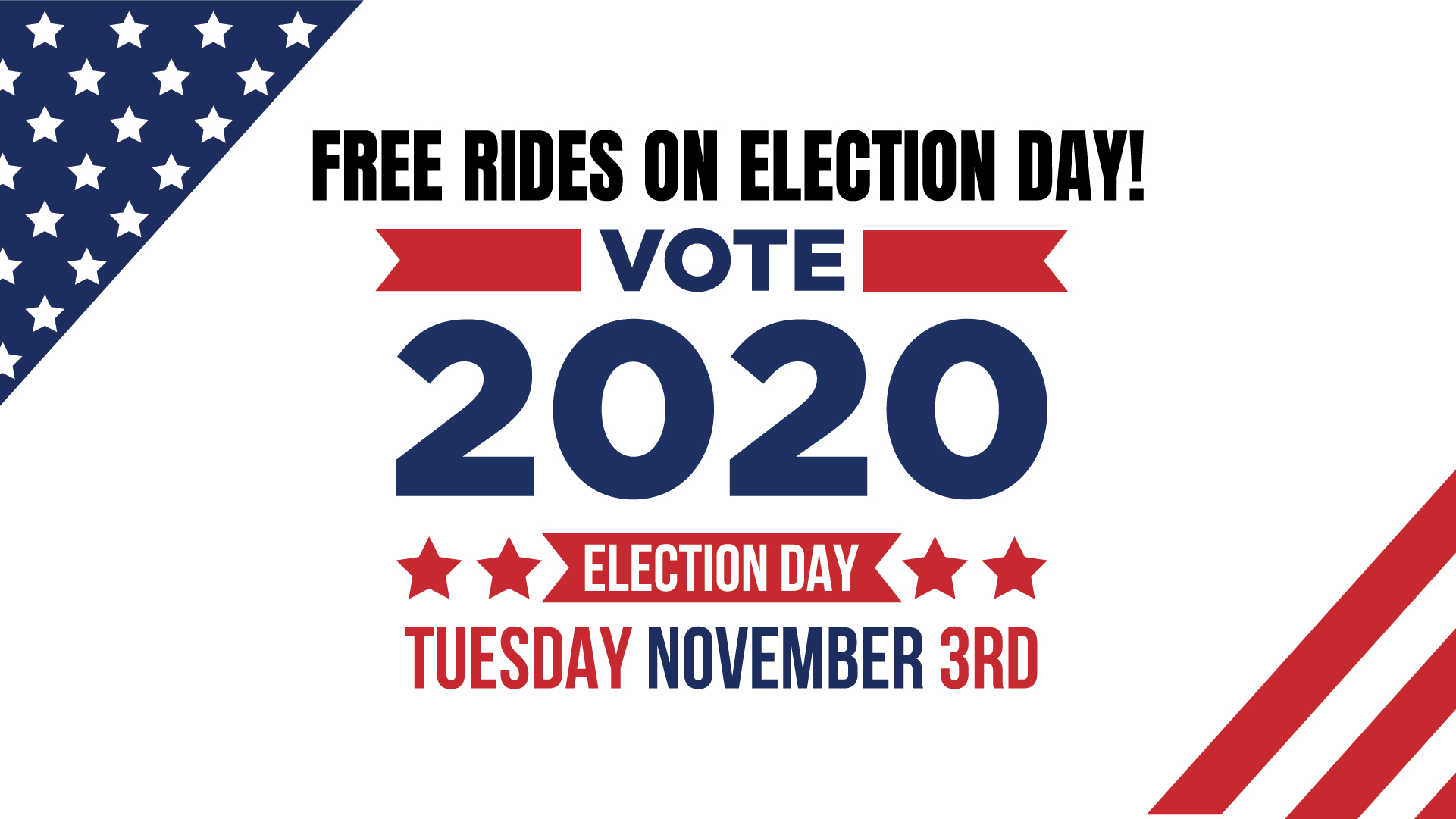 Golden Empire Transit offering FREE rides on Election Day Tuesday, November 3, 2020