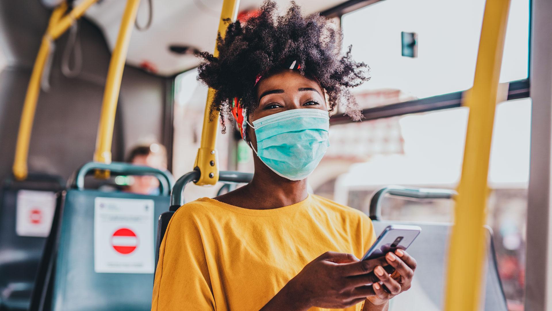 Mask are still Required on all Public Transportation per TSA through September 13, 2021